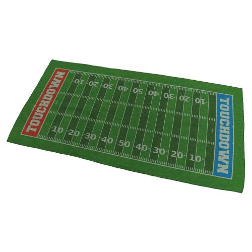 American Football Field Bath Towel - Small